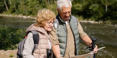 Escursionismo per anziani e sportivi della terza età